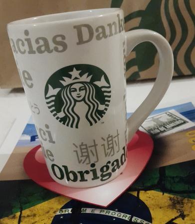 Starbucks City Mug 2017 Obrigado Mug 12 oz