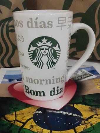 Starbucks City Mug 2017 Bom Dia Mug 12 oz
