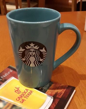 Starbucks City Mug 2018 Caneca Azul Mug x 12 oz