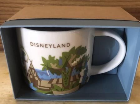 Starbucks City Mug Disneyland v3 YAH