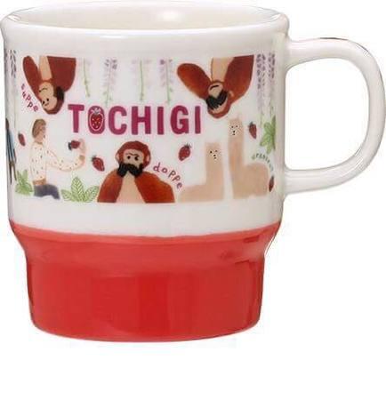 Starbucks City Mug Tochigi