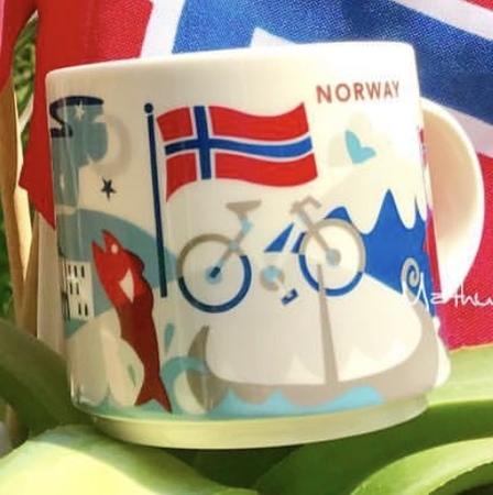 Starbucks City Mug Norway YAH