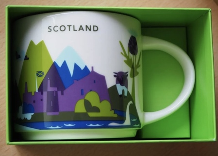 Starbucks City Mug Scotland YAH