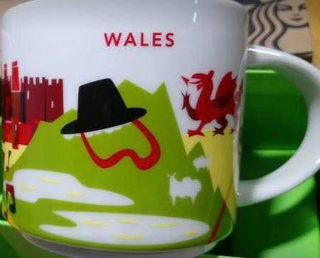 Starbucks City Mug Wales YAH