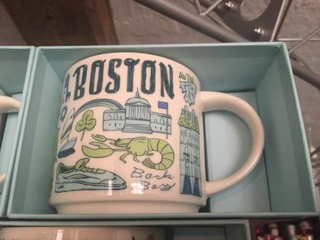 Starbucks City Mug Boston Been There
