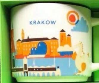 Starbucks City Mug Krakow YAH