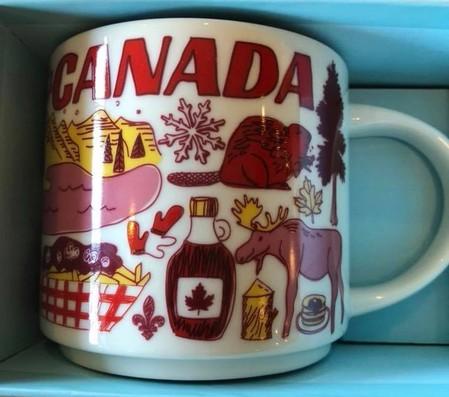 Starbucks City Mug Been There Canada
