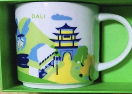 Starbucks City Mug Dali YAH