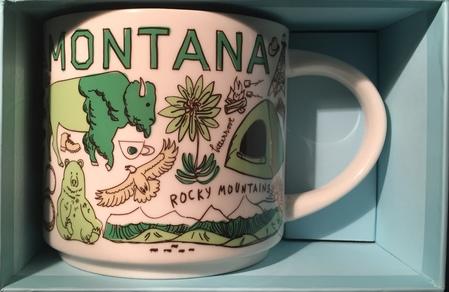 Starbucks City Mug Been There Montana