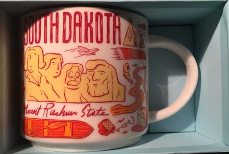 Starbucks City Mug Been There South Dakota