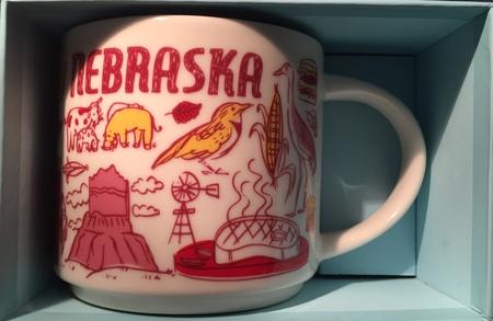 Starbucks City Mug Been There Nebraska V.2