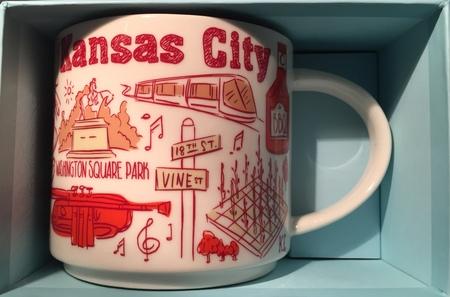 Starbucks City Mug Been There Kansas City