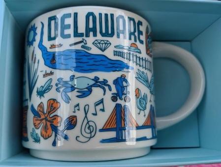 Starbucks City Mug Been There Delaware v.2