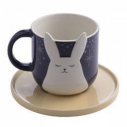 Starbucks City Mug 2018 Mid Autumn Festival Bunny Mug with Saucer