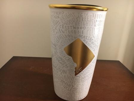 Starbucks City Mug 2017 Washington D.C. Double Wall Traveler