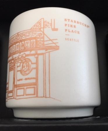 Starbucks City Mug 2018 Pike Place Demitasse Mug