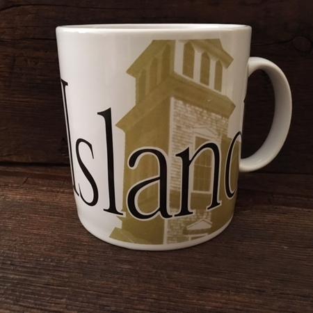 Starbucks City Mug Long Island NY - 1994 Collector Series