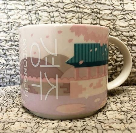 Starbucks City Mug Gyeongju City Mug 2017