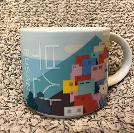 Starbucks City Mug Busan City Mug 2017