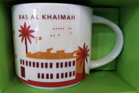 Starbucks City Mug Ras Al Khaimah YAH