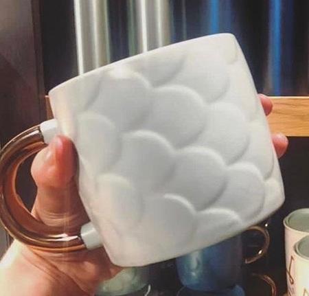 Starbucks City Mug 2018 White Scales Anniversary Mug