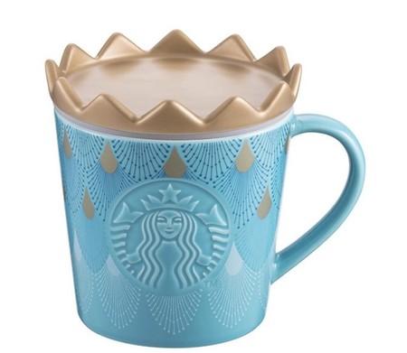 Starbucks City Mug 2018 Anniversary Crown Siren Logo Mug