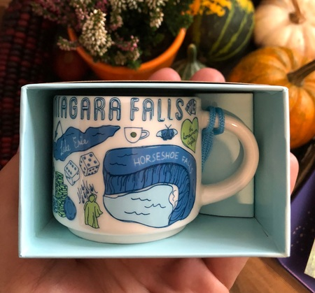 Starbucks City Mug Niagara Falls Been There Ornament