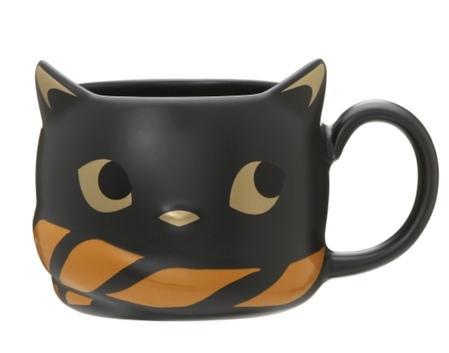 Starbucks City Mug 2018 Halloween Cat Mug