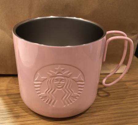 Starbucks City Mug 2018 Stainless Mug Pearl Pink