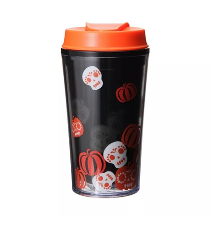 Starbucks City Mug 2015 Halloween Skulls and Pumpkins Tumbler