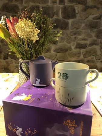 Starbucks City Mug 2018 Malaysia Mooncake box Mug set