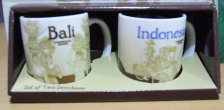 Starbucks City Mug Indonesia - Global Icon Demitasse