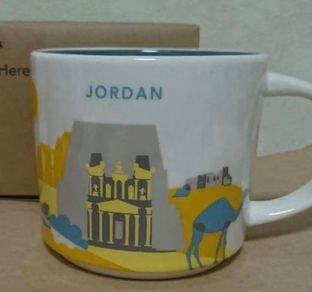 Starbucks City Mug Jordan YAH