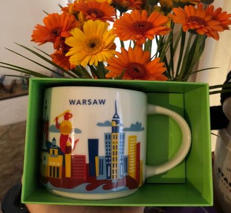 Starbucks City Mug Warsaw YAH