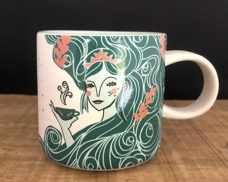 Starbucks City Mug 2018 Starbucks USA Anniversary mermaid mug