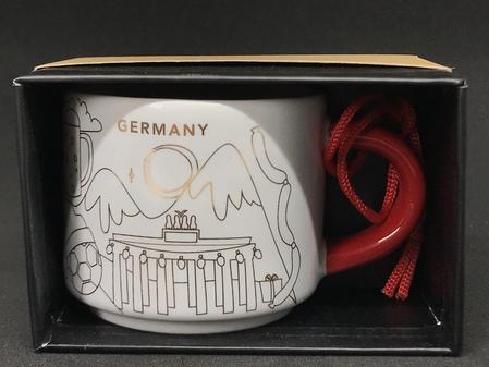 Starbucks City Mug Germany Christmas Ornament mug 2018