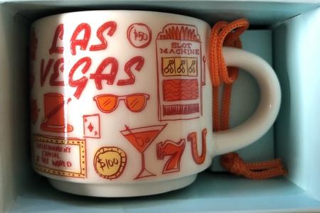 Starbucks City Mug Las Vegas BTC ornament