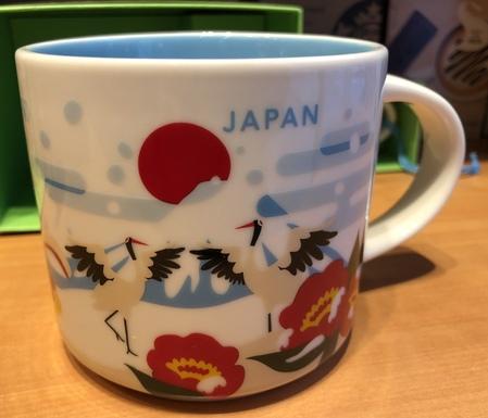 Starbucks City Mug 2018 Japan YAH Winter Version