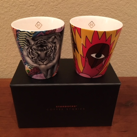 Starbucks City Mug 2018 Coffee Stories Demitasse 1 & 2 Set