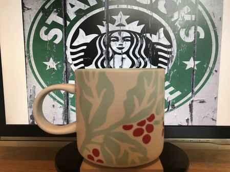 Starbucks City Mug Leaves and fruits 12 fl oz