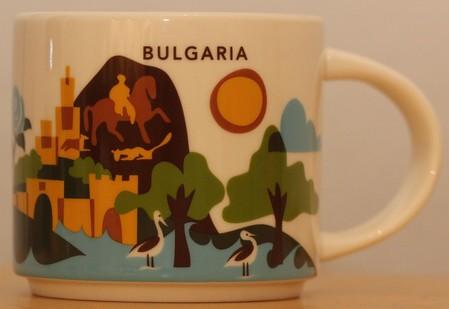 Starbucks City Mug Bulgaria YAH