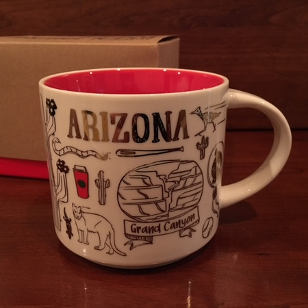 Starbucks City Mug 2018 Arizona Christmas Been There