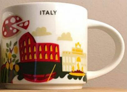 Starbucks City Mug Italy YAH