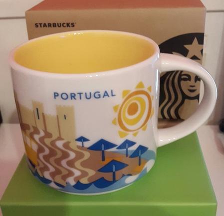 Starbucks City Mug Portugal YAH