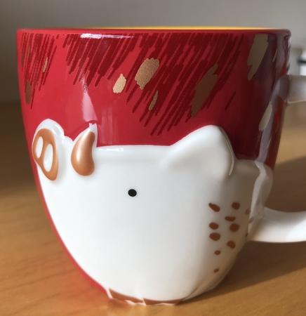 Starbucks City Mug Starbucks Japan CNY PIG