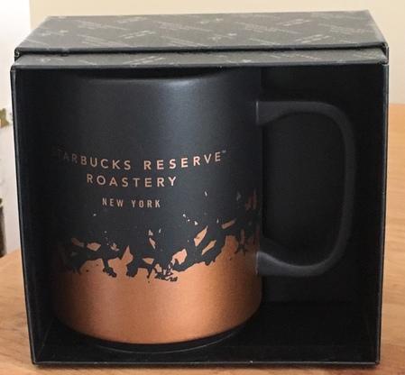 Starbucks City Mug 2018 NY 12 oz. Roastery Launch Mug