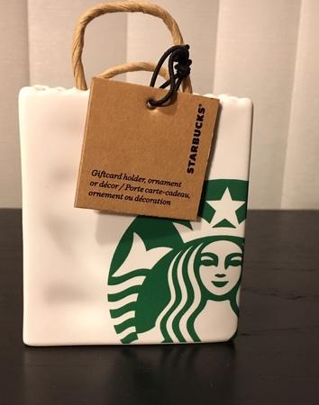 Starbucks City Mug 2018 Shopping Bag Christmas Ornament