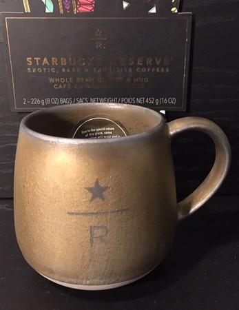 Starbucks City Mug 2018 Gold 16 oz Reserve Abbey Mug