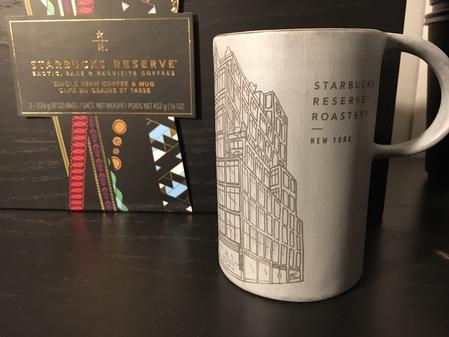 Starbucks City Mug 2018 Grey Limited Edition NY Roastery Mug