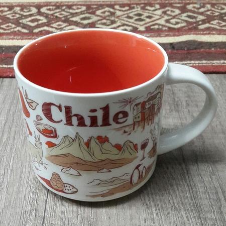 Starbucks City Mug 2018 Chile Been There Series 14 oz